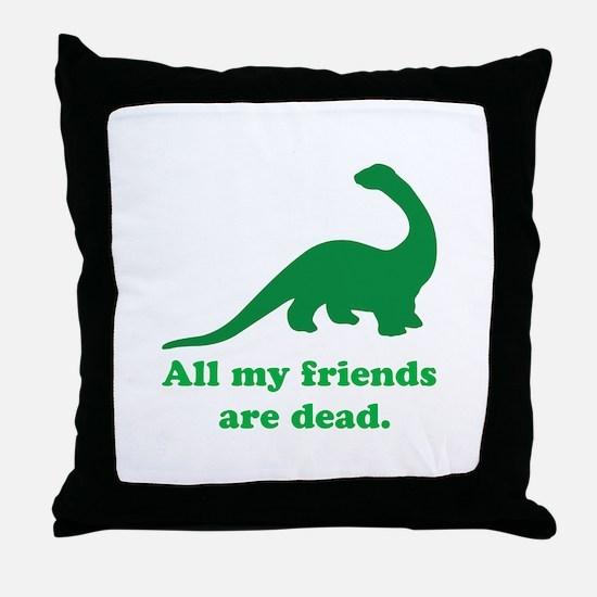 Cute Dead Throw Pillow