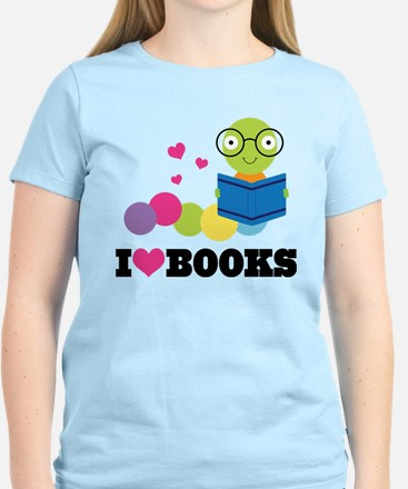 I Heart Books Book Club T-Shirt