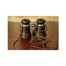 Antique Binoculars Rectangle Magnet