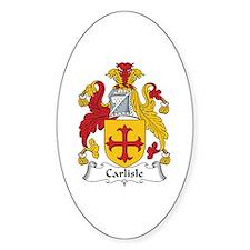 Carlisle Oval Decal