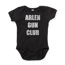 arlen gun club koth Baby Bodysuit