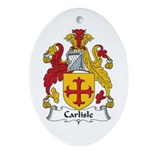 Carlisle Oval Ornament