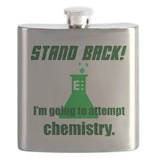 Unique Stand back Flask