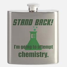 Cute Stand back Flask