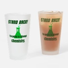 Cute Stand back Drinking Glass