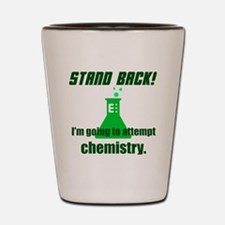 Cute Stand back Shot Glass