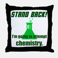 Cute Stand back Throw Pillow