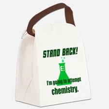 Cute Stand back Canvas Lunch Bag