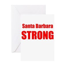 Santa Barbara Strong Greeting Cards