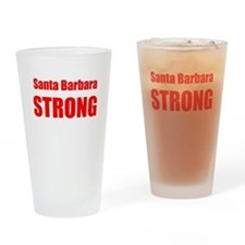 Santa Barbara Strong Drinking Glass
