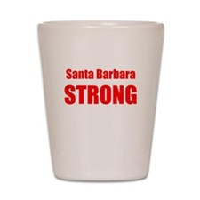 Santa Barbara Strong Shot Glass