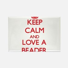 Keep Calm and Love a Beader Magnets