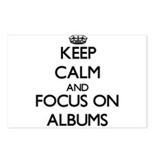 Keep Calm And Focus On Albums Postcards (Package o