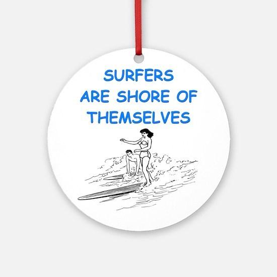 SURF1 Ornament (Round)