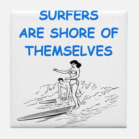 SURF1 Tile Coaster