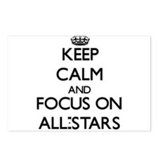 Keep Calm And Focus On All-Stars Postcards (Packag
