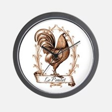Poulet Wall Clock