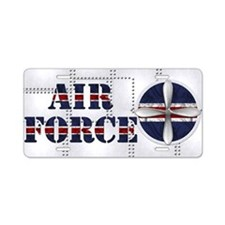 Harvest Moons Air Force Aluminum License Plate