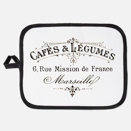 Cafe Marseille Potholder