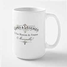 Cafe Marseille Mugs