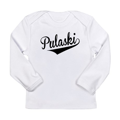 Pulaski, Retro, Long Sleeve T-Shirt