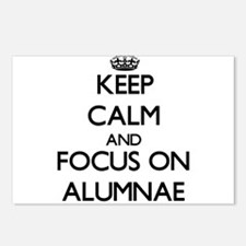 Keep Calm And Focus On Alumnae Postcards (Package