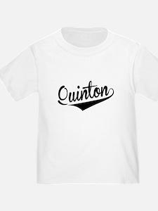 Quinton, Retro, T-Shirt