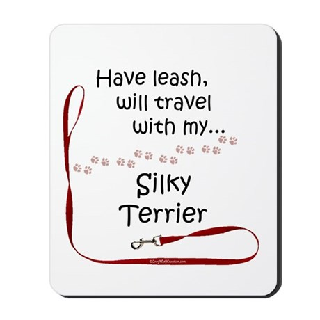 Silky Travel Leash Mousepad