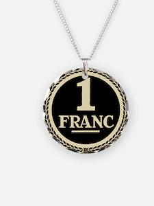 Franc (sepia) Necklace