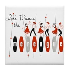 Lets Dance The Merengue Tile Coaster