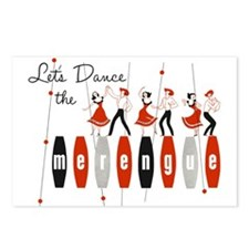 Lets Dance The Merengue Postcards (package Of 8)