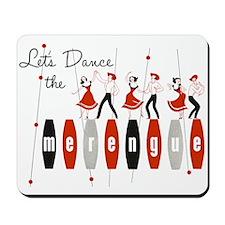 Lets Dance The Merengue Mousepad