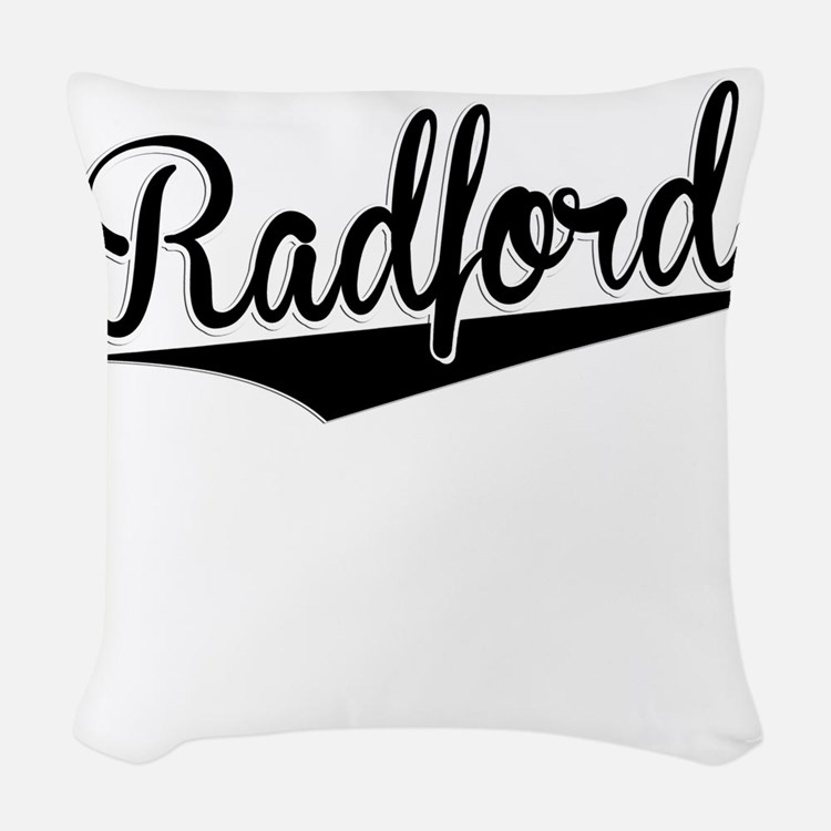 Radford, Retro, Woven Throw Pillow