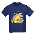 Honey Bee Dance Kids Dark T-Shirt
