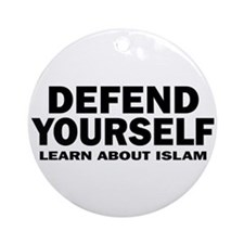 Defend Yourself Ornament (Round)