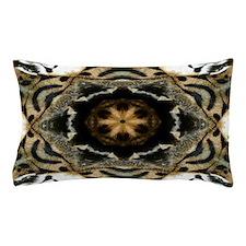 Tiger Drum Mandala Pillow Case