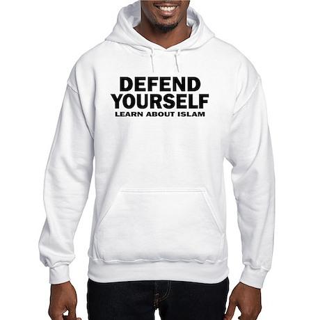 Defend Yourself Hooded Sweatshirt
