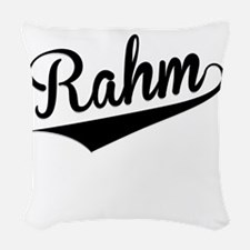 Rahm, Retro, Woven Throw Pillow