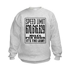 Light Speed Limit Sweatshirt