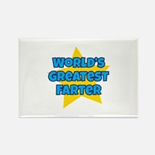 Cute Unusual fathers day Rectangle Magnet