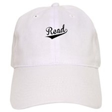 Read, Retro, Baseball Baseball Cap