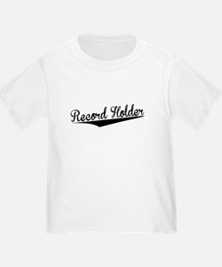 Record Holder, Retro, T-Shirt