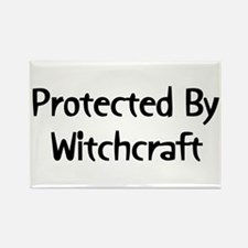 Protected By Witchcraft Rectangle Magnet (100 pack