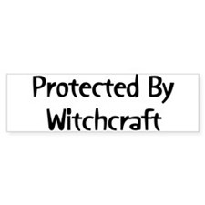 Protected By Witchcraft Bumper Bumper Sticker