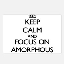 Keep Calm And Focus On Amorphous Postcards (Packag