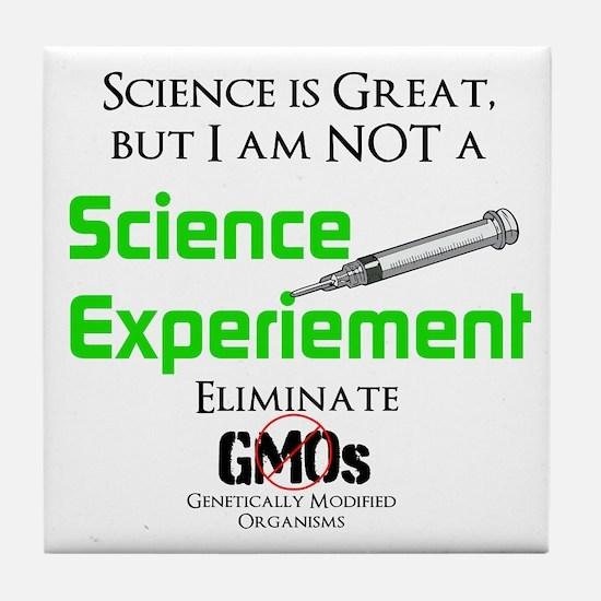 Science, Not Gmo Tile Coaster