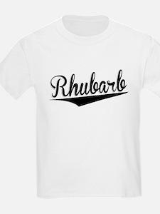 Rhubarb, Retro, T-Shirt