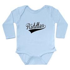 Riddles, Retro, Body Suit