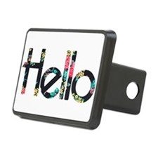 Hello Floral Hitch Cover