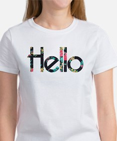 Hello Floral T-Shirt